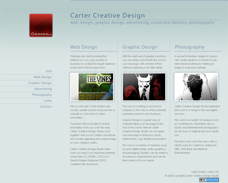 Carter Creative Design - Home