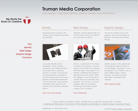 Truman Media Corporation - Home